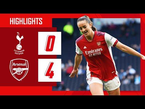 HIGHLIGHTS    Tottenham vs Arsenal (0-4)    Hennessy (2), McCabe, Patten