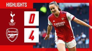 HIGHLIGHTS   Tottenham vs Arsenal (0-4)