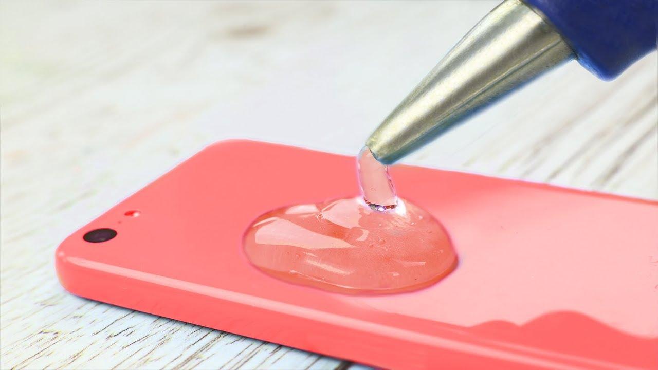 7 astuces avec de la colle chaude youtube - Comment enlever de la colle glue ...