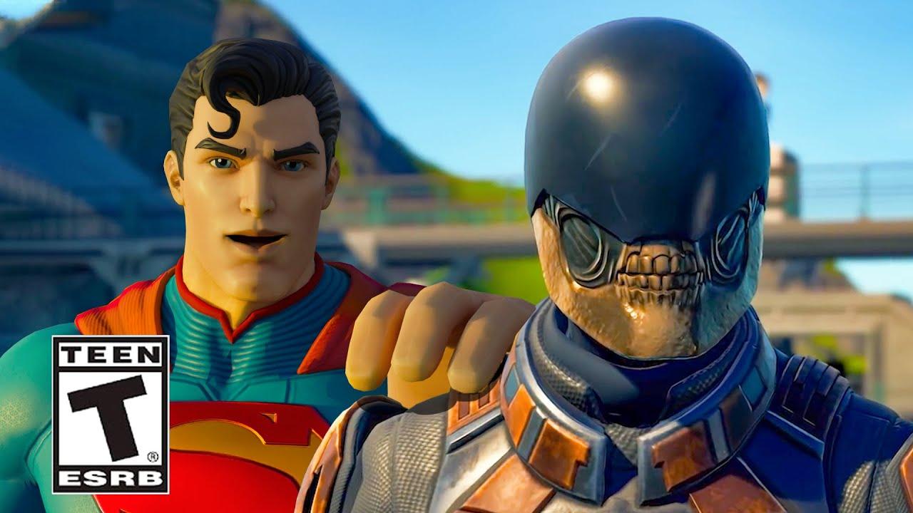 Fortnite Superman Trailer (REVEALED)