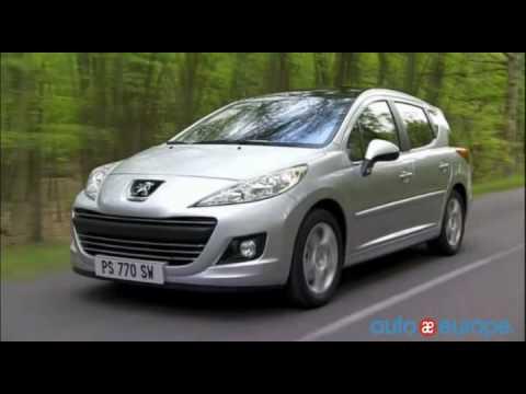 Lease a Peugeot 207 Wagon through Auto Europe - YouTube