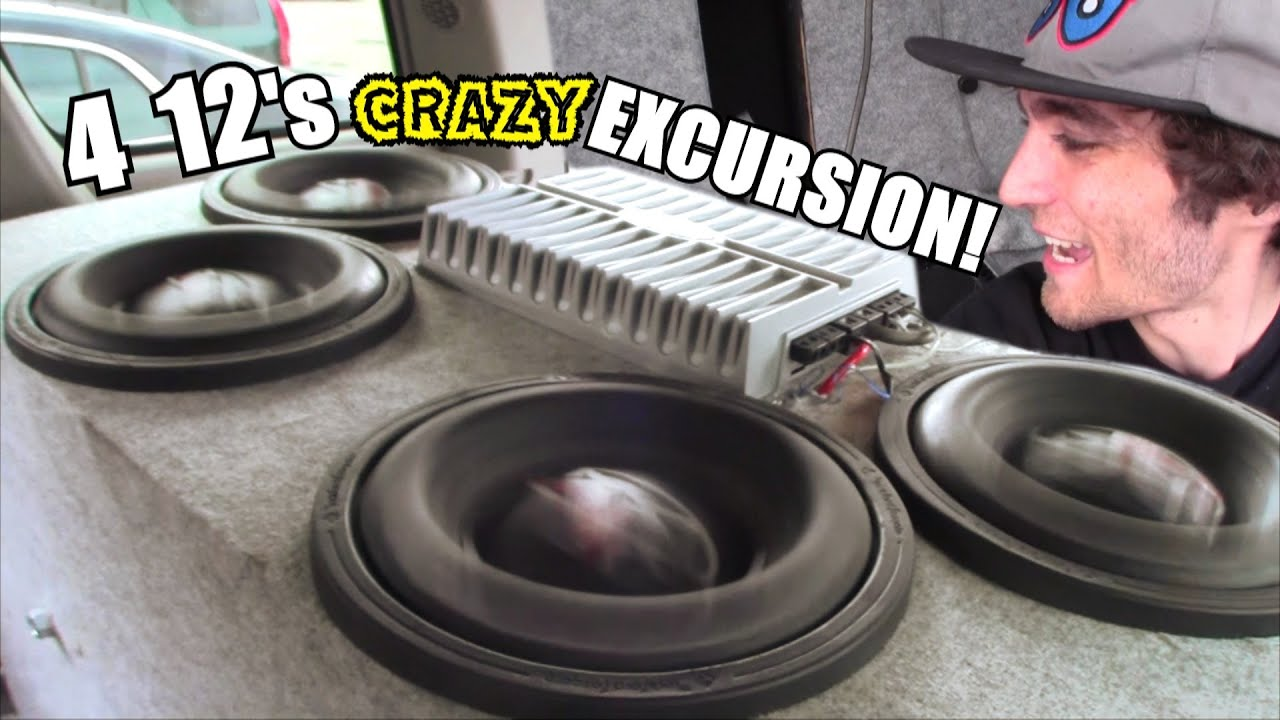 Maxed Out Subwoofer Excursion W 4 12 Quot Rockford Fosgate