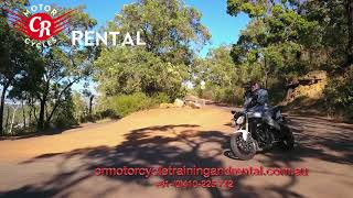 Perth Hills on a Motorcycle