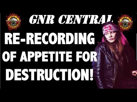 Guns N' Roses: The True Story Behind the Re-Recording of Appetite for Destruction