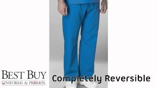 Medical Scrub Pants - Completely Reversible From Best Buy Uniforms