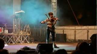 Lindsey Stirling - Anti Gravity - LIVE 2012 & first time in Italy -
