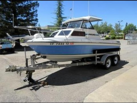 1990 Marlin 18 Foot Cuddy Cabin Boat on GovLiquidation.com
