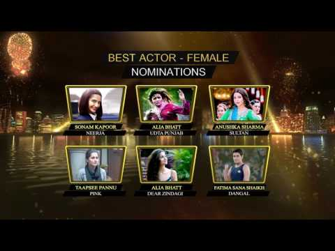 Zee Cine Awards – Nominations for Best Actor [Female]