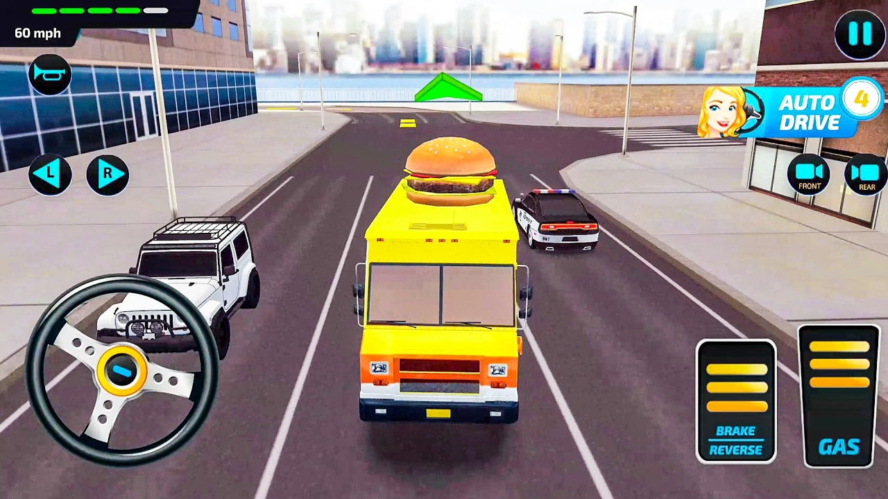 Food Truck Rush Drive & Serve - Android Gameplay FHD