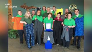 Bay College EMT/Paramedic Club collects clothing donations for hospital