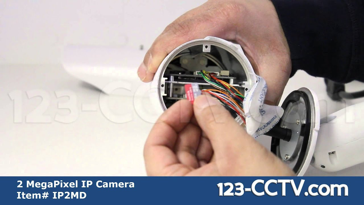2 Megapixel Ip Bullet Camera With Varifocal Lens 1080p