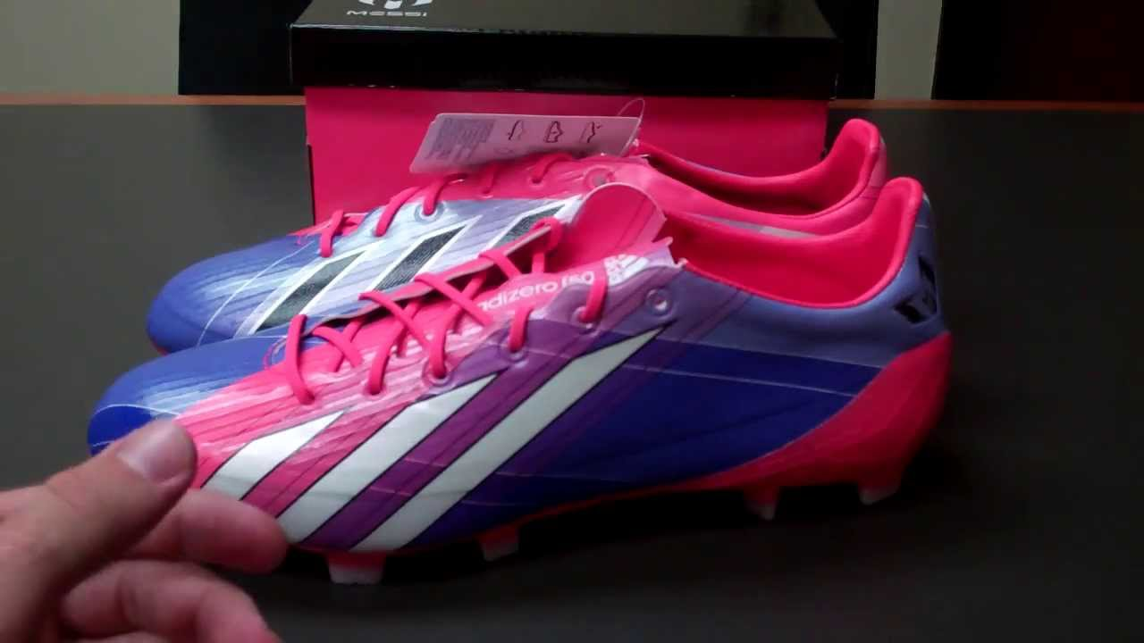 finest selection e0dbc a0aa6 Adidas F50 adiZero Messi Edition Unboxing and Review - YouTube