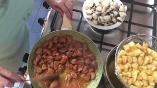 Carne de porco à Alentejana... à moda da Nandinha!