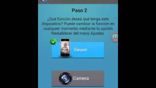 Usar nuestro teléfono como cámara de seguridad