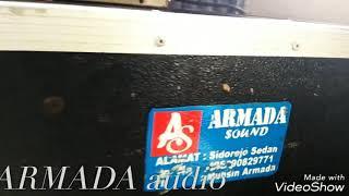 Cek sound di gudang ARMADA audio