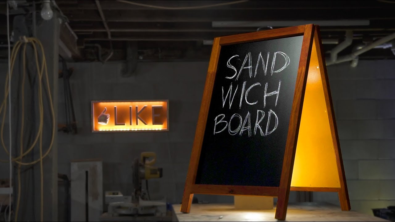 How To Make An A Frame Sign