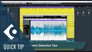 Hitpoint Detection | Cubase Quick Tips