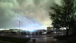 Garden City, KS - Storm Time Lapse - May 8th, 2013