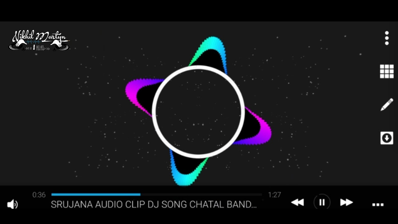 HOW TO MAKE MUSIC VISUALIZER WITH AVEE PLAYER | DJ NIKHIL MARTYN