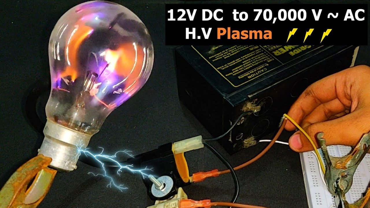 Circuit Ball Plasma Globe Power Supply Variable Power Supply Circuit