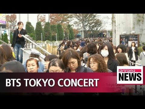 S. Korean Band BTS Perform Concert In Tokyo