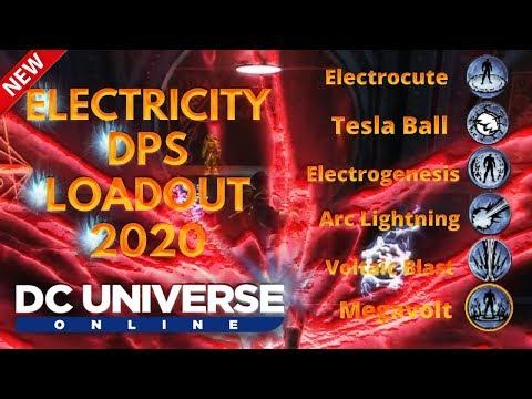 DCUO Electricity Dps Loadout 2020