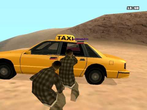 GTA San Andreas, Multiplayer - Desert Eagle Battle, (2vs2)