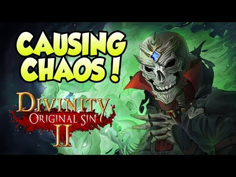 ACTS OF THEFT & MURDER FTW! Divinity Original Sin 2! (#4)