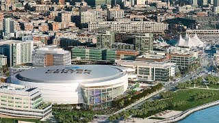 Chase Center Adds Exterior Metal Panel System to the Arena