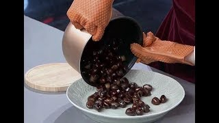 Making sugar roasted chestnuts| CCTV English