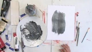 Video How to Make Silver Paint : Painting Techniques download MP3, 3GP, MP4, WEBM, AVI, FLV Oktober 2018
