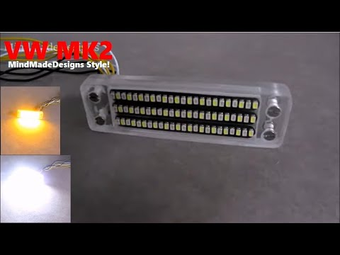 Car turn signal flowing led + drl light switchback