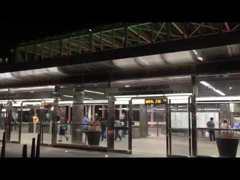 Government Center Green Line Train Station, Boston, MA