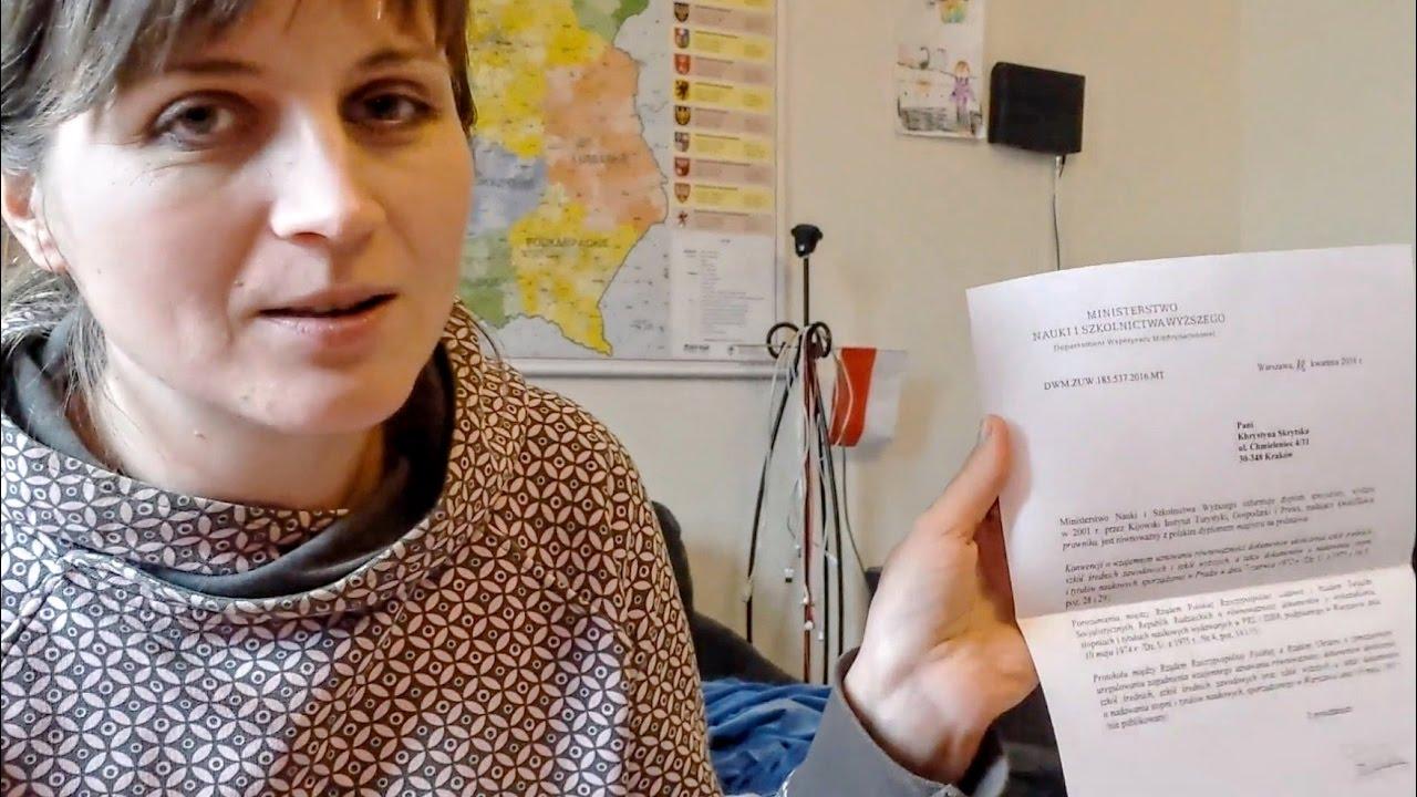 Украинский диплом в Польше Подтверждение   538 Украинский диплом в Польше Подтверждение