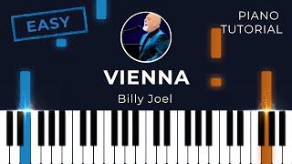 Vienna (Billy Joel) - Piano tutorial