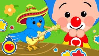 Pajaritos A Bailar ♫ Plim Plim ♫ Canciones Infantiles