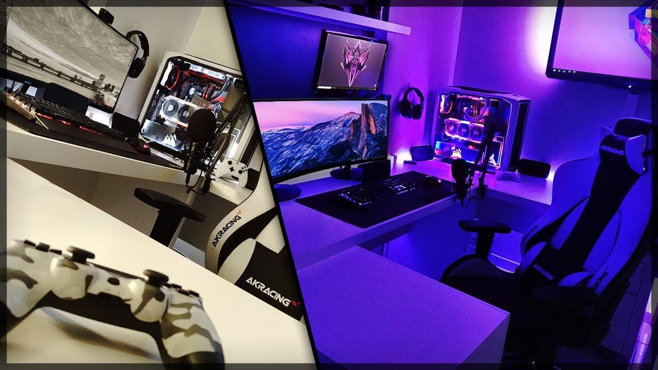 Meu Setup Gamer 2020 Melhor Quarto E Gaming Room Youtube