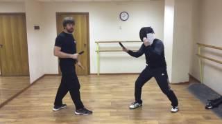 Урок 3. Спортивный ножевой бой: Принцип атаки. Школа ножевого боя Толпар.