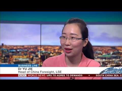 Yu Jie on Xi-Putin/China-Russia relations BBC World News Business Live 2017 07 03