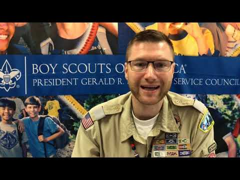 President Ford Field Service - Michigan Crossroads Council