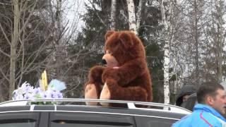Свадьба зимой  Югорск -клип Саша+Катя