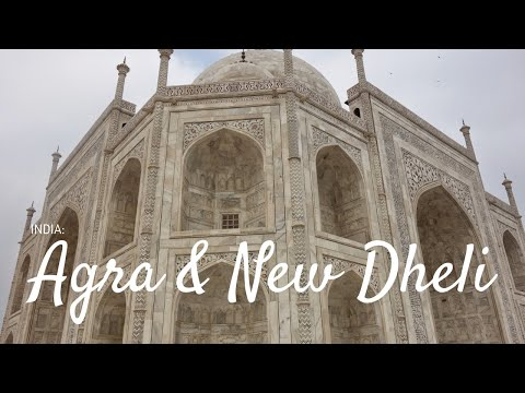 ✈ #TBT India Part 2: Agra and New Delhi | Travel Vlog ✈
