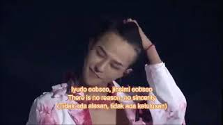 Gdragon this love + crooked Live act motte III Sub Indonesia