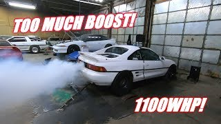 The Mr2 Blew Up at 1100Hp!