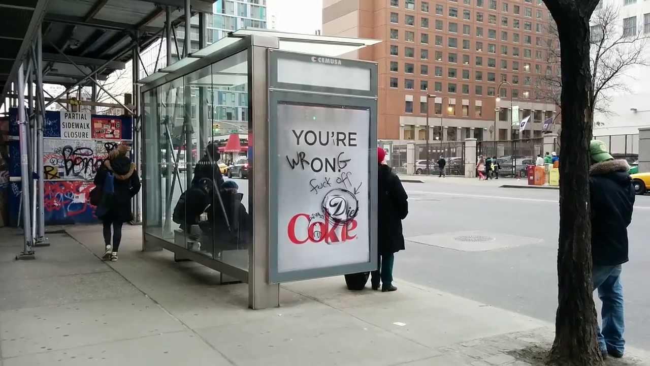 Bus Stop Diet Coke Ad Youtube