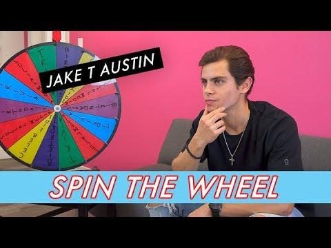 Jake T Austin || Spin the Wheel