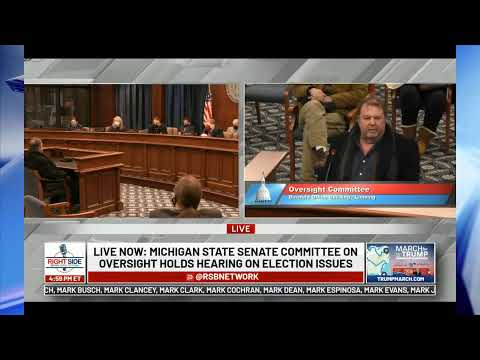 🔴 LIVE: Michigan State Senate Committee on Oversight Holds Hearing on Election Issues 12/1/20
