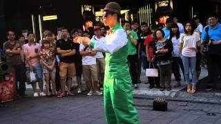 2013.06.01 street party 阿空 (小綠人