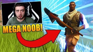 REACTING To My *FIRST* GAME of Fortnite Battle Royale!