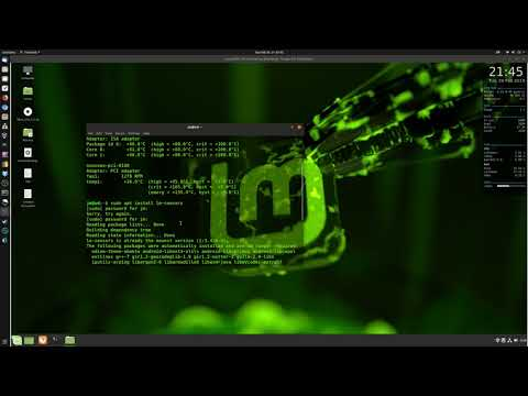 How To Check Cpu Temps In Linux Mint 19.1